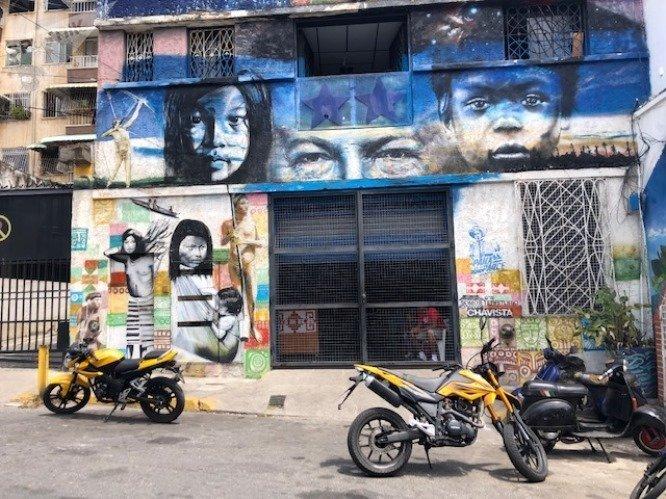 La Minka se encuentra a escasos pasos del Palacio de Miraflores, sede del Gobierno de Venezuela