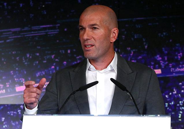 Zinedine Zidane, exfutbolista y entrenador