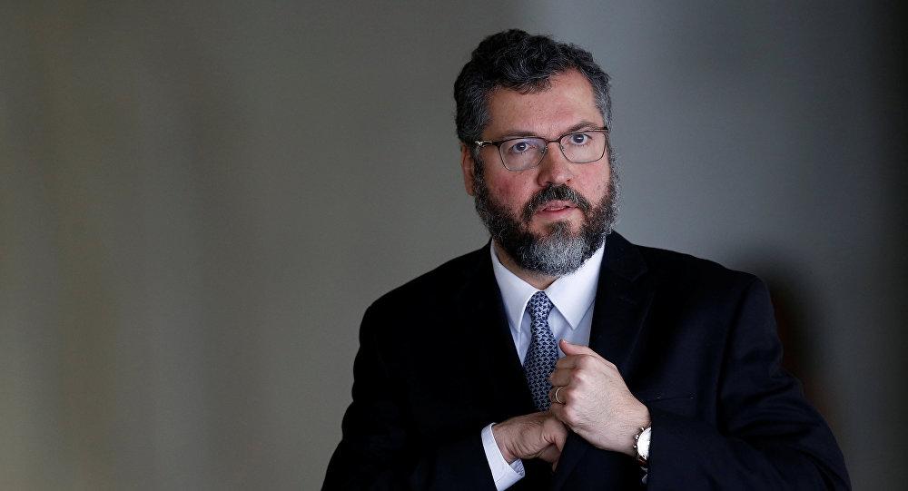 Ernesto Araújo, el ministro de Relaciones Exteriores de Brasil