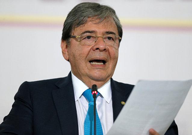 El canciller de Colombia, Carlos Holmes Trujillo