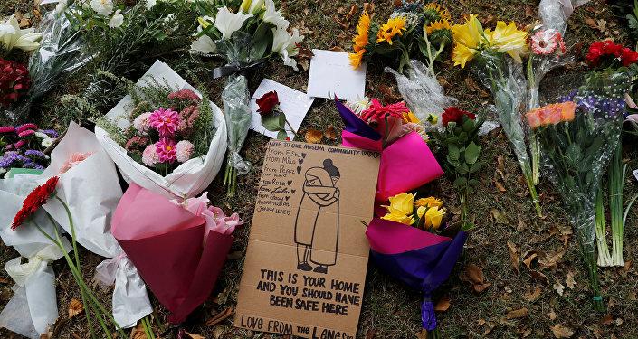 Homenaje a las víctimas del tiroteo en Chistchurch, Nueva Zelanda