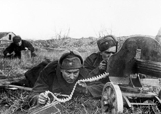 Los combates durante la Segunda Guerra Mundial