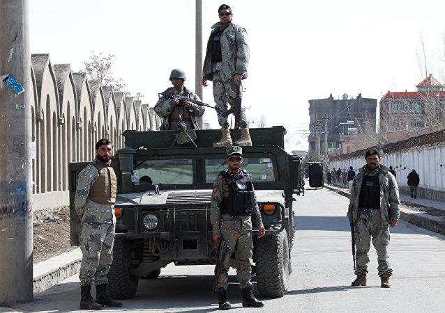 Unos militares de Afganistán (archivo)
