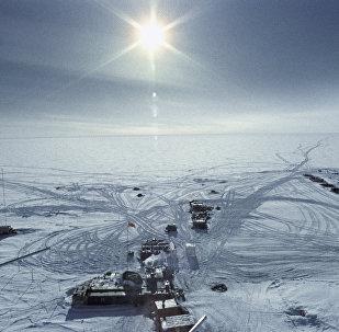 Una estación en la Antártida (imagen referencial)