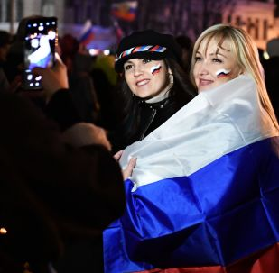 Crimea celebra a lo grande su retorno a Rusia