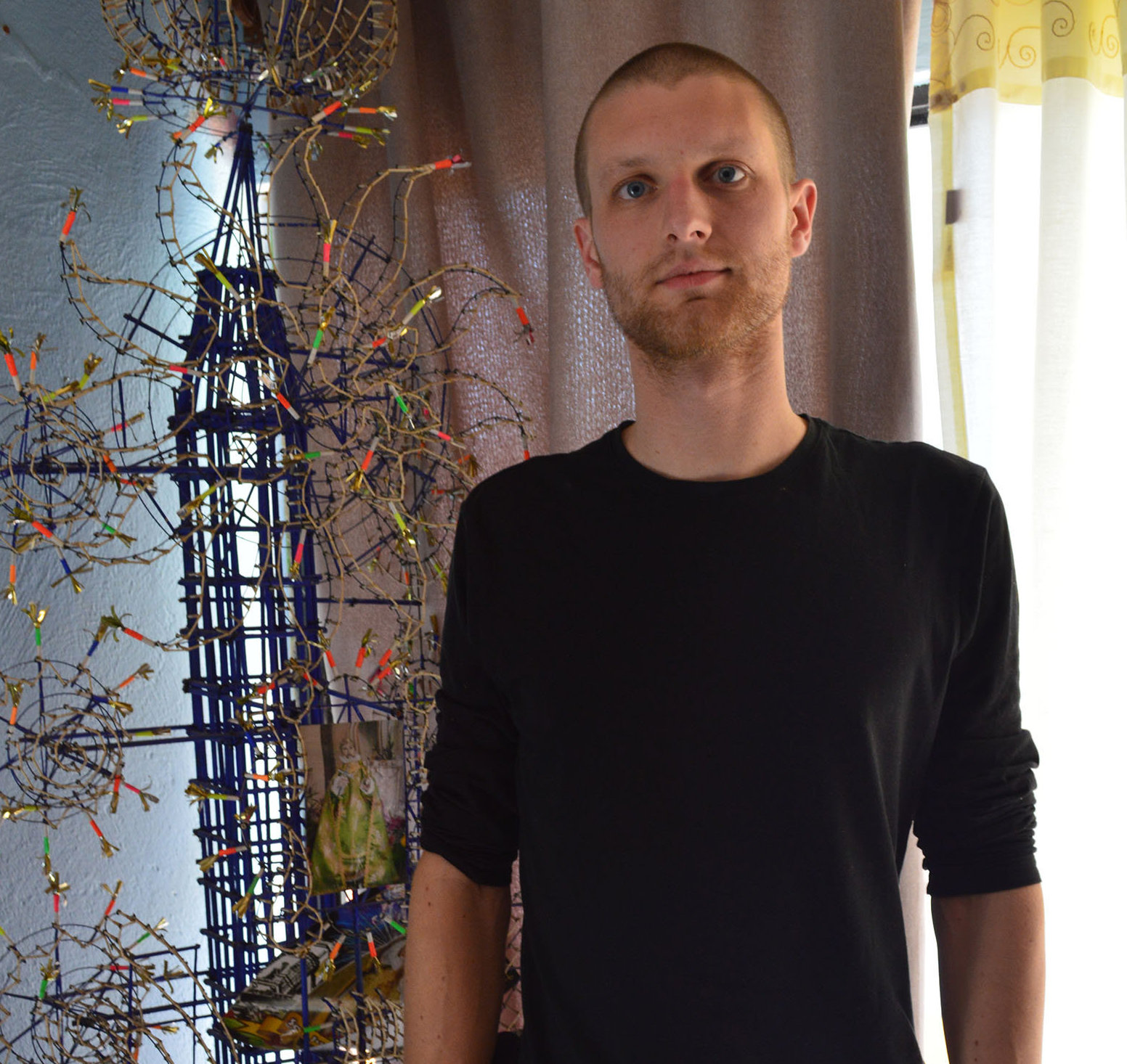 Felix Rausch, artista pirotécnico alemán
