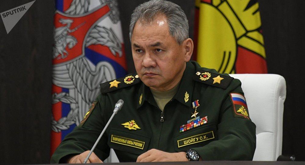 Serguéi Shoigú, ministro de Defensa de Rusia
