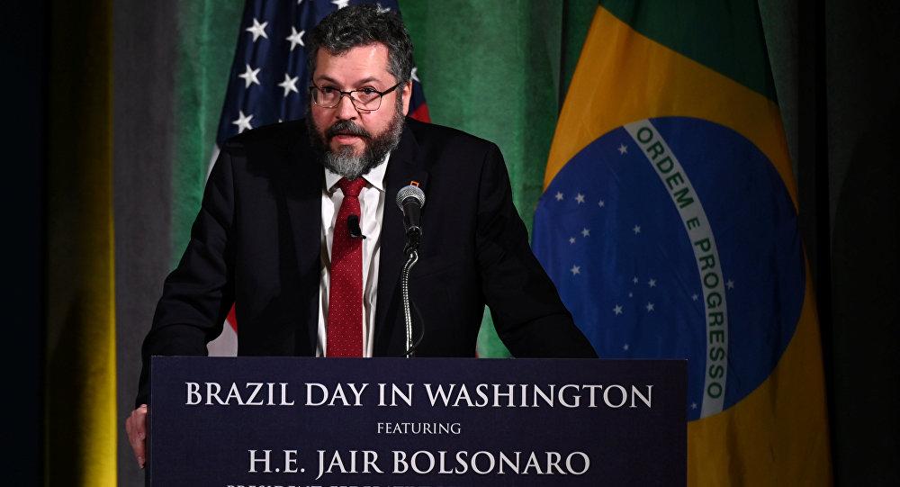 Ernesto Araújo, canciller de Brasil