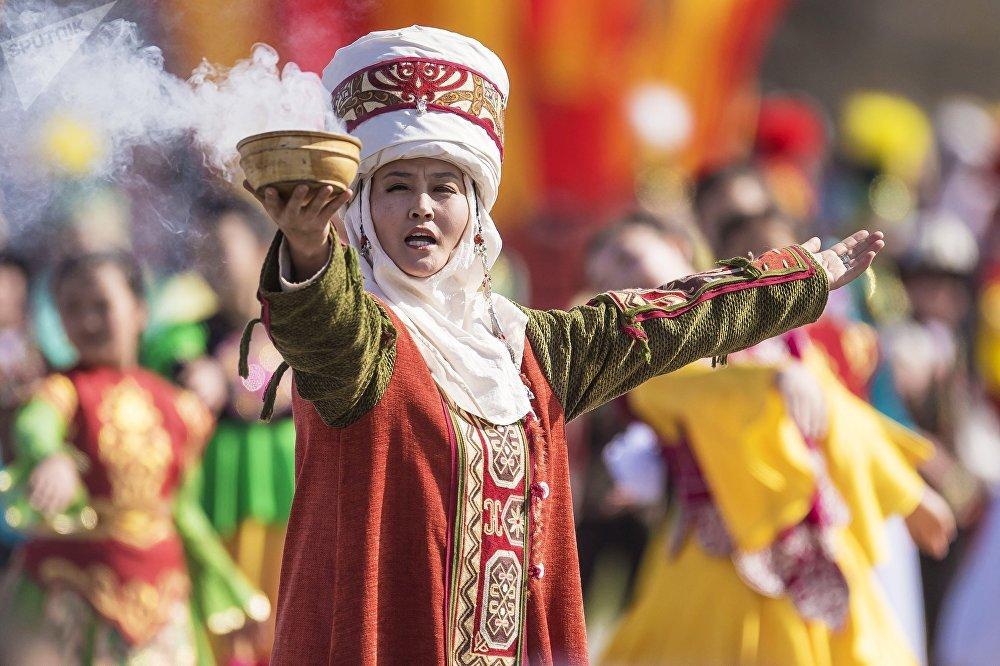 La celebración de 'Novruz' en Biskek, la capital de Kirguistán