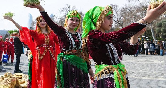La celebración de 'Novruz' en Azerbaiyán
