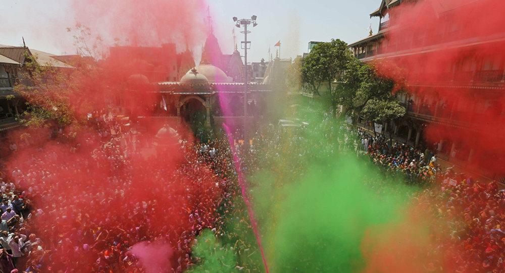 El Festival de Colores en la India
