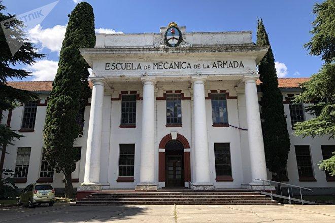 En la Escuela de Mecánica de la Armada, en Argentina, funcionaba en la última dictadura militar un centro clandestino de detención y desaparición de personas.