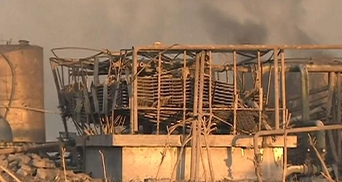 Las graves consecuencias de la explosión en una planta en China