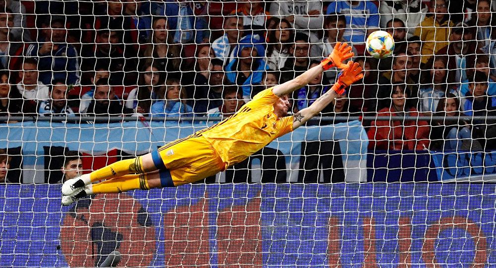 Segundo gol de la Venezuela en un amistoso en Madrid