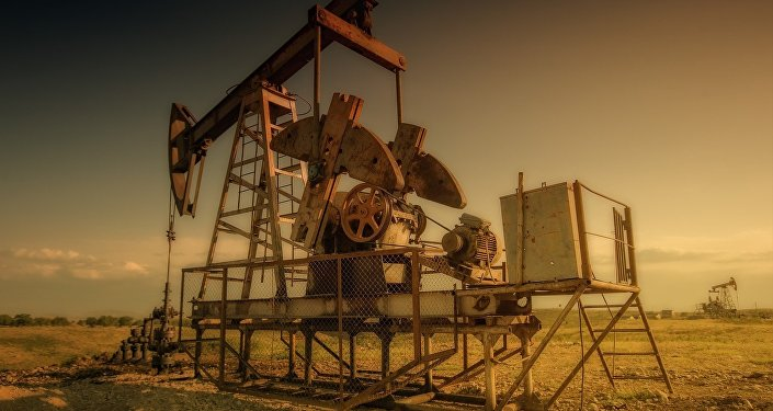 Una plataforma petrolera