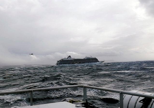 El crucero Viking Sky
