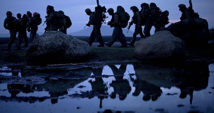 Soldados israelíes en los Altos del Golán (archivo)