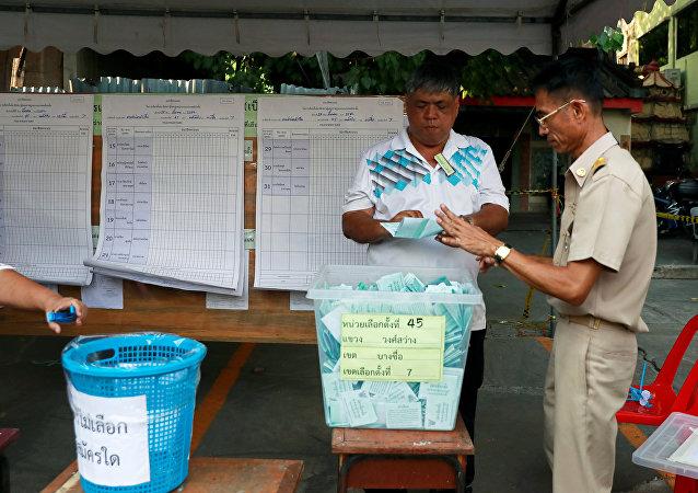 Las elecciones en Tailandia