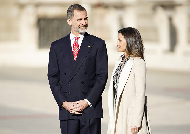 El rey Felipe VI de España y la reina Letizia (archivo)