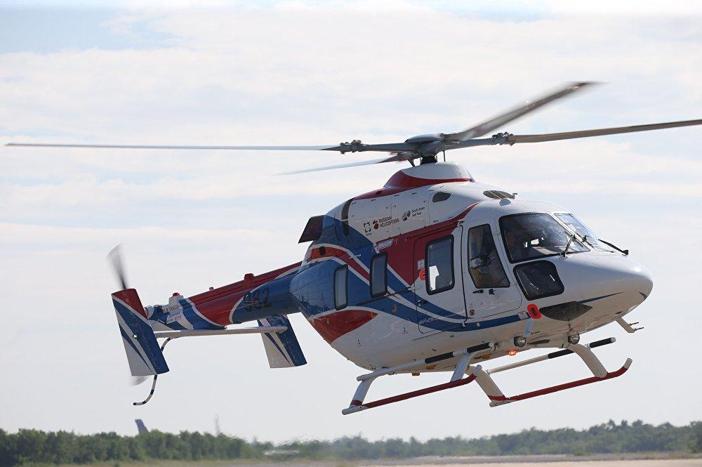 El helicóptero Ansat