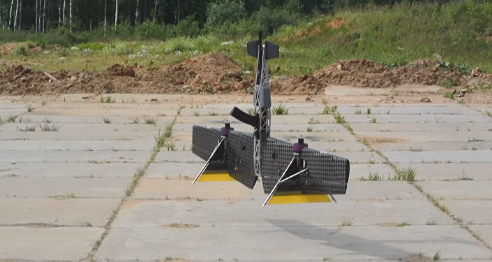 Ponen a prueba en Rusia una 'carabina voladora'