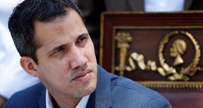 Juan Guaidó, líder opositor venezolano