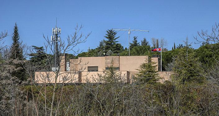 La embajada de Corea del Norte en España