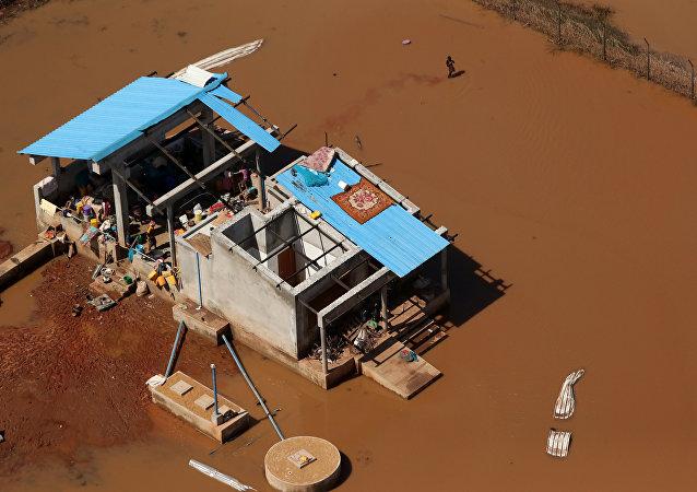 Las consecuencias del ciclón Idai en Mozambique