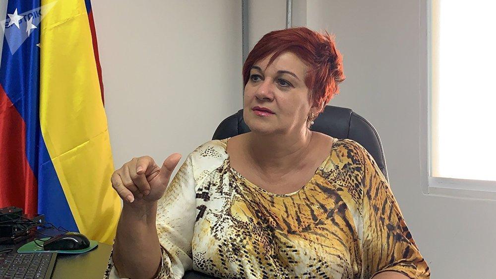 María Alejandra Díaz, presidenta de la comisión de derechos humanos y garantías constitucionales de la Asamblea Nacional Constituyente
