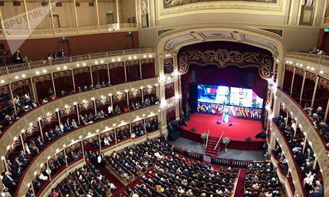 Inauguración del Congreso Internacional de la Lengua Española