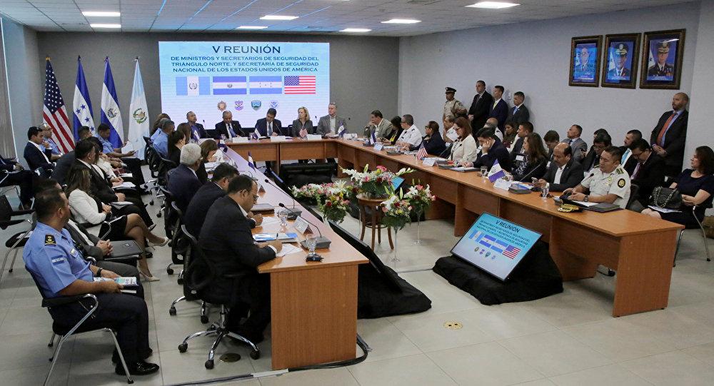 La quinta Reunión de ministros y secretarios de Seguridad de los países del Triángulo Norte y EEUU