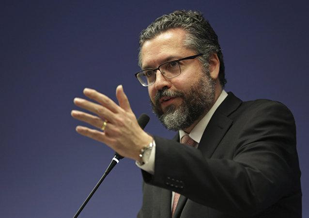 Ernesto Araújo, ministro de Relaciones Exteriores de Brasil