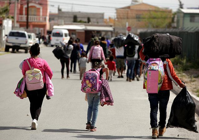 Mujeres migrantes en México