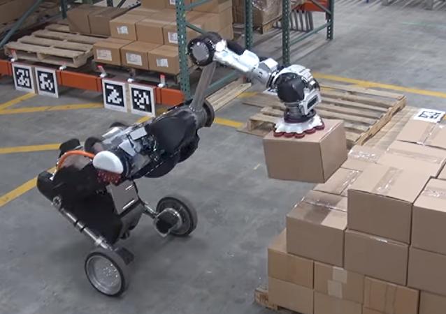 La versión modernizada del robot Handle