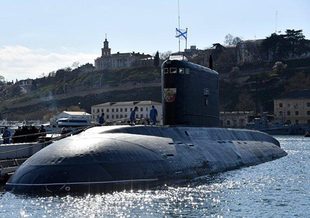 El submarino ruso Veliki Novgorod