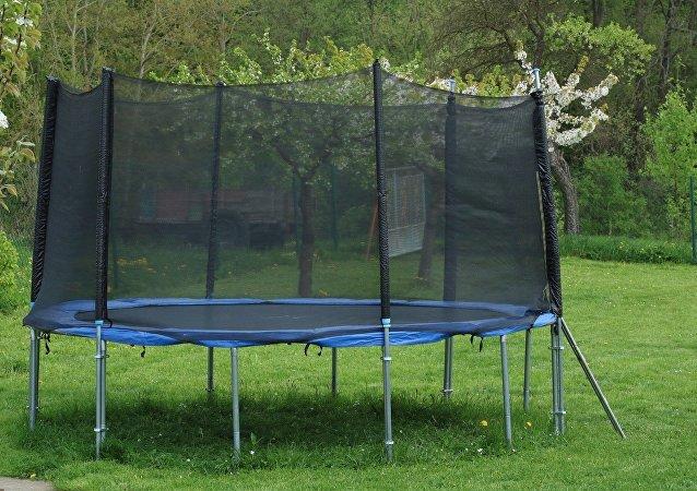 Una cama elástica (imagen referencial)