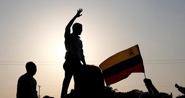 Juan Guaidó, presidente autoproclamado de Venezuela