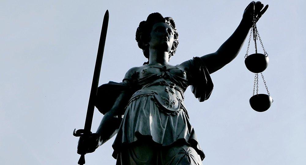 Estatua de Justicia