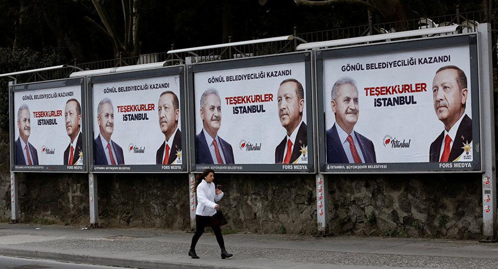 Las elecciones municipales en Turquía