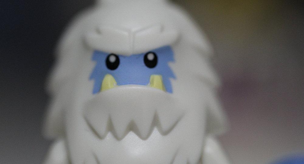 Una figura del Yeti