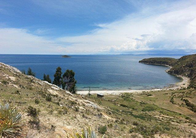 Isla del Sol, lago Titicaca, Bolivia