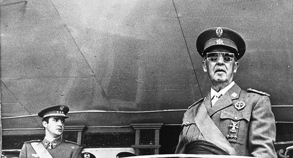 Francisco Franco, dictador español