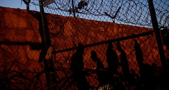Migrantes en la frontera sur de EEUU
