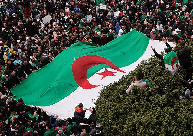 Protestas en Argelia  (archivo)