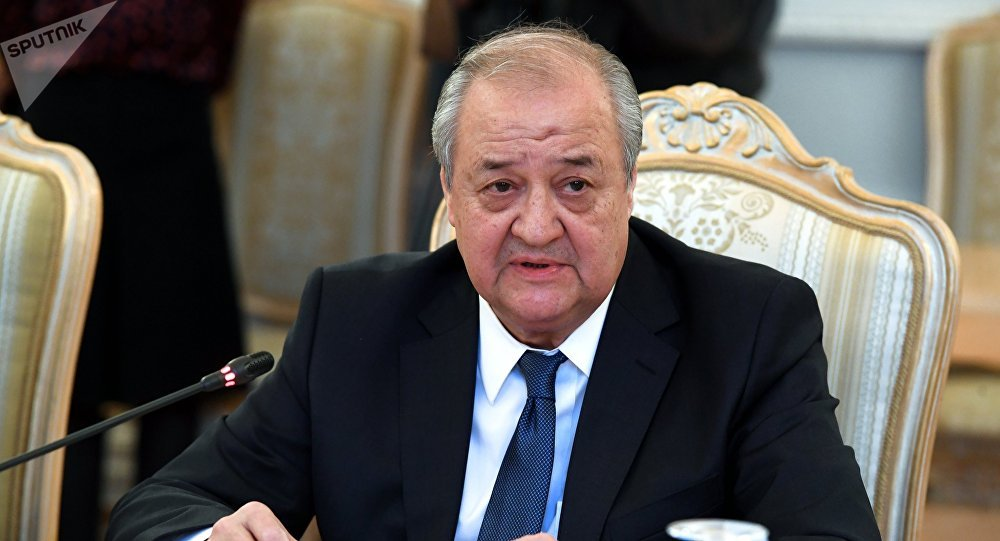 Abdulaziz Kamilov, canciller uzbeko