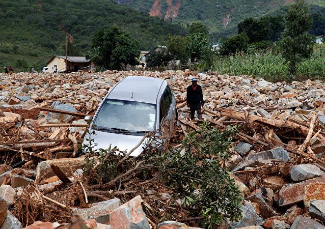 Consecuencias del ciclón Idai en Zimbabue