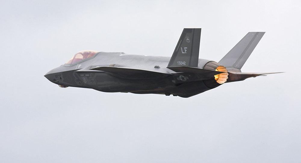 El caza estadounidense F-35