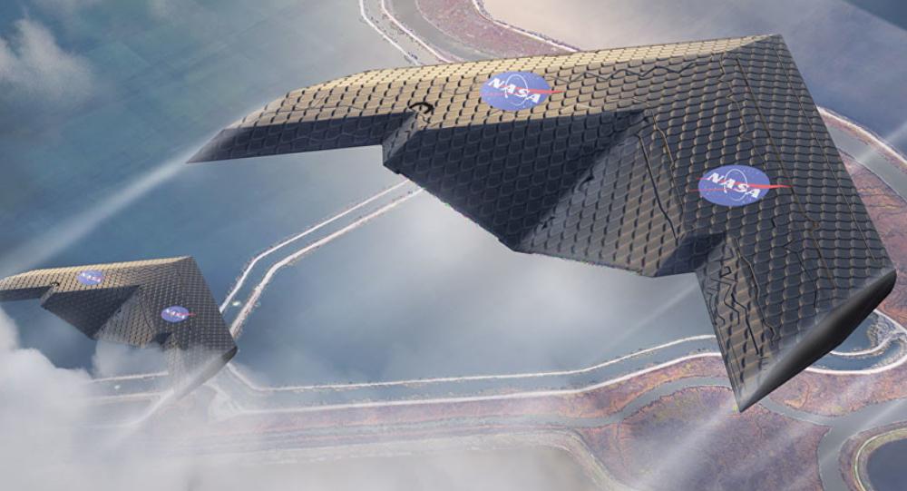 Un concepto de avión de la NASA y del MIT