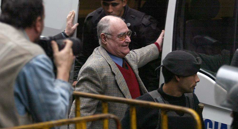 Exmilitar uruguayo José Gavazzo declarando ante la Justicia de ese país