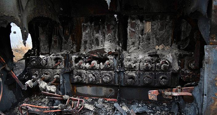 Las consecuencias del incendio de la empresa estatal Corporación Eléctrica Nacional (Corpoelec)
